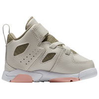 Jordan Flight Club  91 - Girls  Toddler - Off-White   Olive Green 1555cb5a33a3