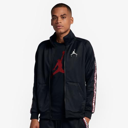 2b4f687810e848 Jordan JSW Jumpman Tricot Jacket - Men s - Basketball - Clothing -  Black Black Smoke Grey