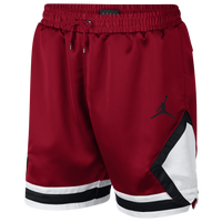 Jordan Satin Diamond Shorts - Men's - Red