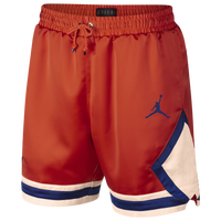 Jordan Satin Diamond Shorts - Men's - Orange