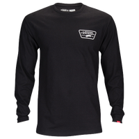 Vans Full Patch Back Long Sleeve T-Shirt - Men's Skate - Black A2XCMBLK