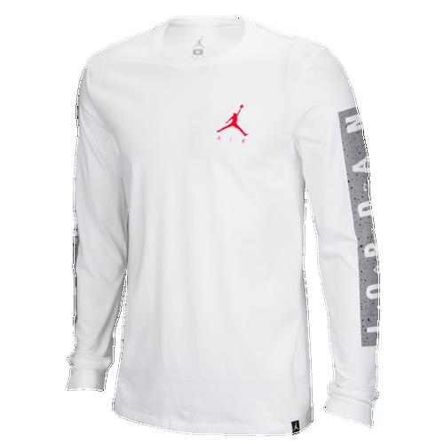5c320a48ba9 Jordan JSW Cement Print Long Sleeve T-Shirt - Men's - Basketball ...
