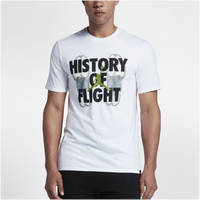 602727da4bc5 Jordan Retro 13 Connection T-Shirt - Men s - White   Black