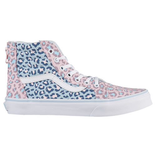 a3aa8c93be Vans SK8-Hi - Girls  Grade School - Casual - Shoes - Chalk Pink Baby Blue