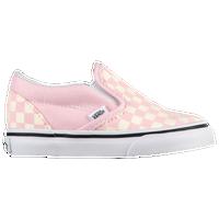 4200ff15fd Vans Classic Slip On - Girls  Toddler - Pink   White