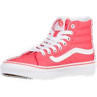 e80e5652e59b27 Vans SK8-Hi Slim - Women s - Red   White