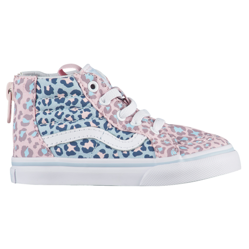 19fcce00cf Vans SK8-Hi - Girls  Toddler - Casual - Shoes - Chalk Pink Baby Blue