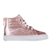 35bd290dfd7 Vans SK8-Hi - Girls  Toddler - Casual - Shoes - Chalk Pink Baby Blue