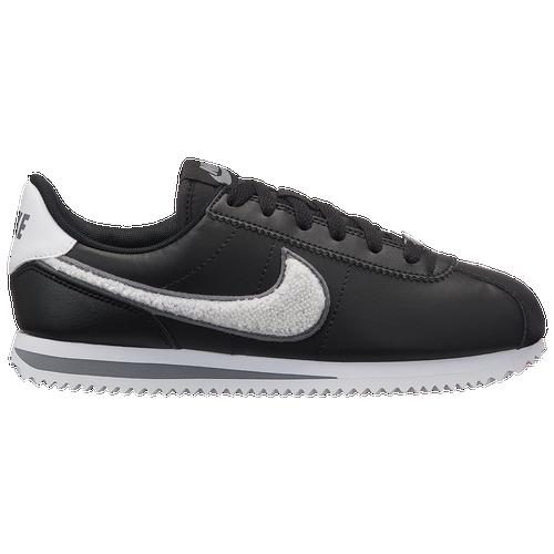 c3edb56a02f Nike Cortez - Boys  Grade School - Casual - Shoes - Black White Cool ...