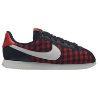 Nike Cortez - Girls' Grade School - Black / Red