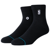 Stance Logoman St Quarter Basketball Sock - Men's - Black