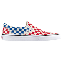 vans checkered red