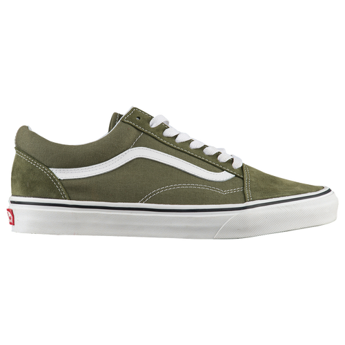 vans old skool olive