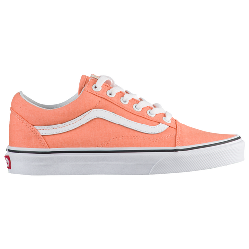 09ecd8a4cdeb25 Vans Old Skool - Women s - Casual - Shoes - Peach Pink True White