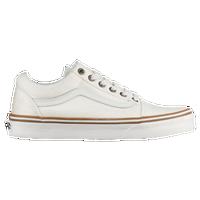 vans old skool hi white leather