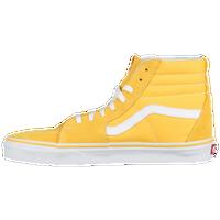 ec300bd188 Vans Sk8-Hi - Men s - Yellow   White