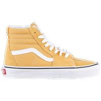 d3f2d09f87 Vans Sk8-Hi - Boys  Grade School - Yellow   White