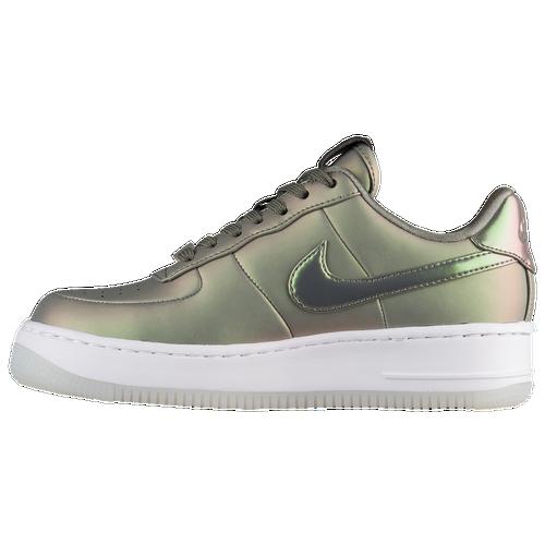 Nike Air Force 1 Upstep - Women's - Casual - Shoes - Dark Stucco/White/Black