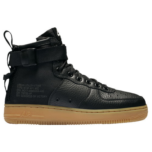 nike sf air force 1 mid black gum nz