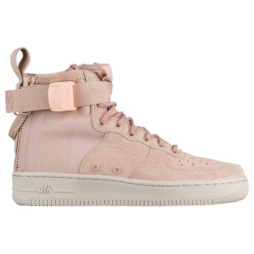 Nike SF Air Force 1 Mid - Women s - Casual - Shoes - Vast Grey Vast Grey Gum  Lt Brown f554cd9e7