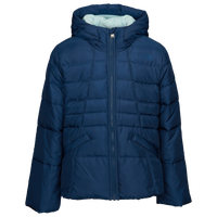 The North Face Moondoggy 2.0 Down Hooded Jacket - Girls' Grade School - Navy
