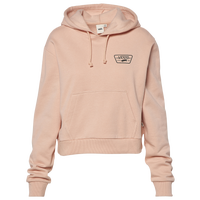 Vans Full Patch Crop Hoodie - Women's - Pink