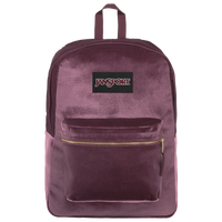 JanSport Superbreak Velvet Backpack - Purple