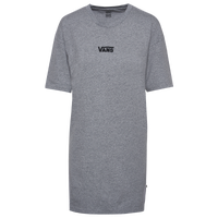 Vans Center Vee T-Shirt Dress - Women's - Grey