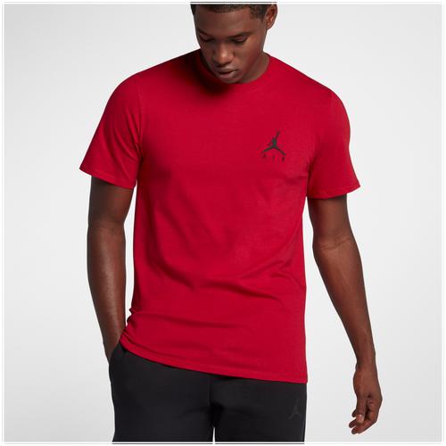 7ce1bdb67d60 Jordan JSW Jumpman Air Embroidered T-Shirt - Men s - Basketball - Clothing  - Carbon Heather White