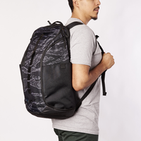 Nike Hoops Elite Pro Print Backpack - Black