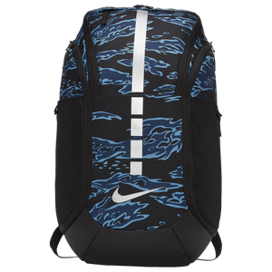 Nike Hoops Elite Pro Backpack - Black/Obsidian/Metallic Silver