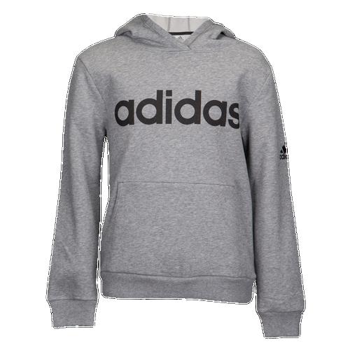 33802a28bf85 adidas Athletics Pullover Hoodie - Boys  Grade School - Casual - Clothing -  Charcoal Grey Heather
