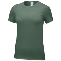 Nike Team Core SS Tee - Women's - Dark Green / Dark Green