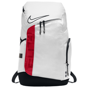 Nike Hoops Elite Pro Backpack - White/University Red/Black
