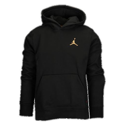 a023629c241 Jordan BHM Pullover Hoodie - Men s - Basketball - Clothing - Black Black Metallic  Gold