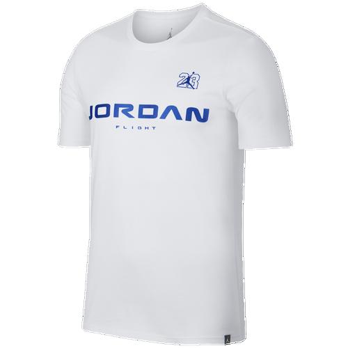 0574b4474800c0 Jordan Retro 13 JSW T-Shirt - Men s - Basketball - Clothing - White ...