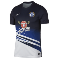 Nike Soccer Dry S/S Top - Men's - Chelsea - Navy
