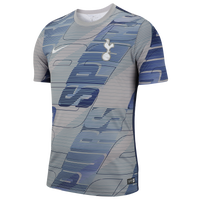 Nike Soccer Dry S/S Top - Men's - Tottenham - Grey / Blue