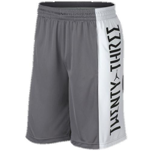 Jordan Retro 11 Basketball Shorts - Men's Basketball - Gunsmoke/White/Dust A8950036