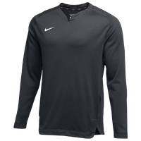 Nike Team BP Crew - Men's - Grey