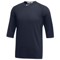 Nike Team Pro Cool 3/4 Sleeve Top - Men's - Navy