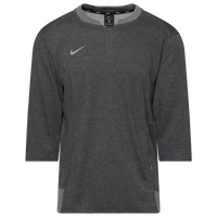 Nike Team 3/4 Flux Crew - Men's - Grey