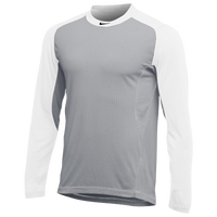Nike Team All Day Baseball Top - Men's - Grey / White