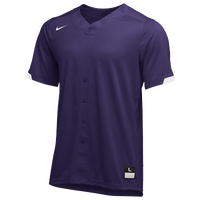 Nike Team Stock Gapper Jersey - Men's - Purple
