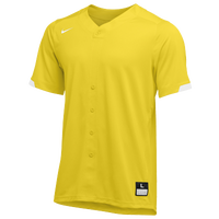 Nike Team Stock Gapper Jersey - Men's - Yellow