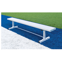 Fisher Athletic Powder Coated Benches W/Out Backrest