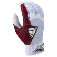 adidas EQT adiZero Batting Gloves - Men's - White / Maroon