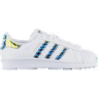 adidas superstar bright blue