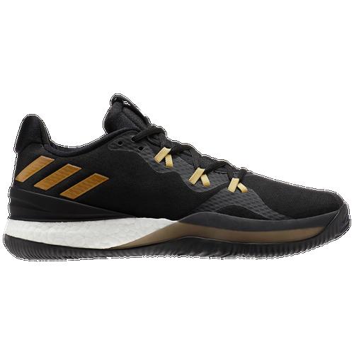 7c2a2d0aa5a4b adidas Crazy Light Boost 2018 - Men s - Basketball - Shoes -  Black Gold Carbon