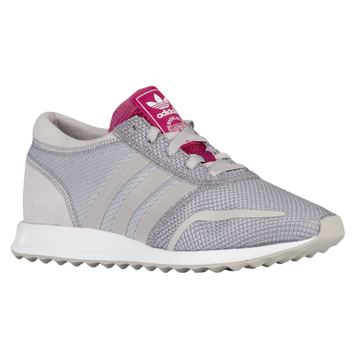 adidas Originals Los Angeles - Women's - Running - Shoes - Clear Granite/Clear  Granite/Berry